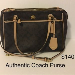 Coach Purse Used once. LOVE THIS BAG you will too.